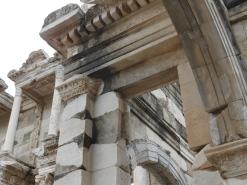 Library pillars